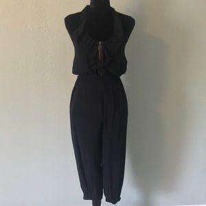 GUESS - Black halter jumpsuit
